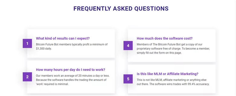 The Bitcoin Future FAQs